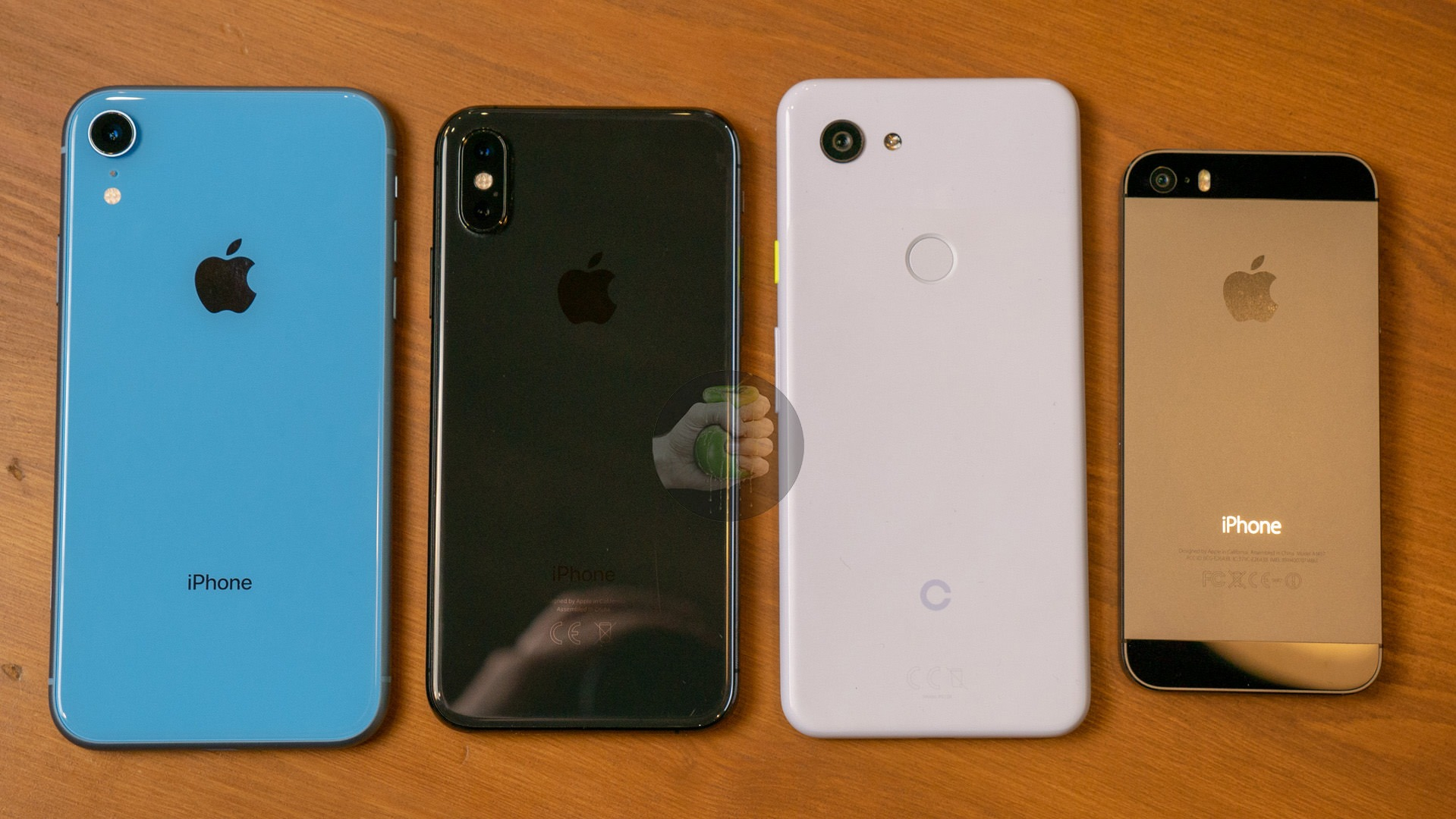 Here's how Google Pixel 3 Lite compares to other phones in terms of size 1