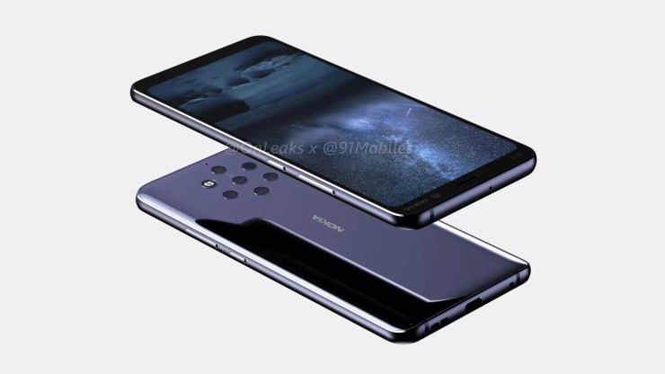 Nokia 9 CAD renders confirm a Penta Lens setup on the rear 4