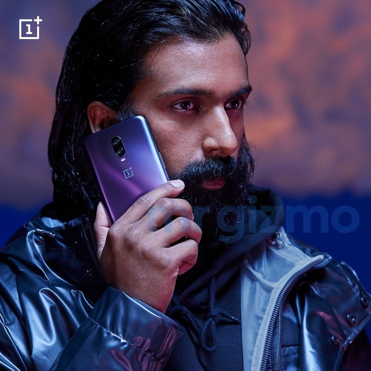 This is how the OnePlus 6T in Thunder Purple looks like 4