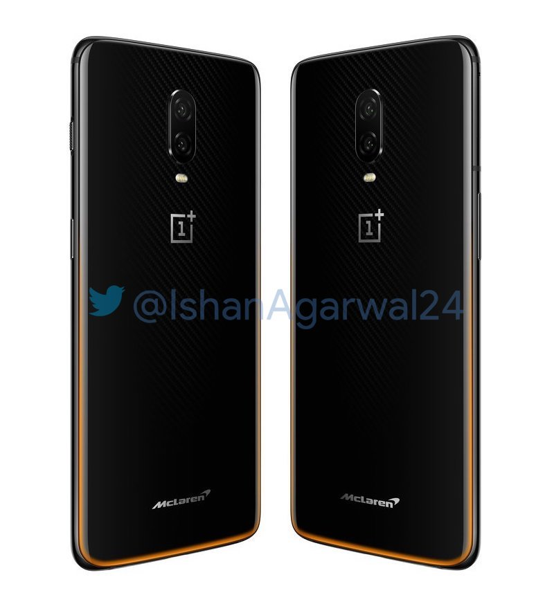 OnePlus 6T McLaren Edition press images leaked, Warp Charge confirmed 2