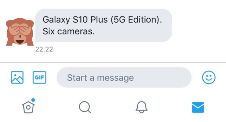Samsung Galaxy S10's 5G variant has six cameras in total