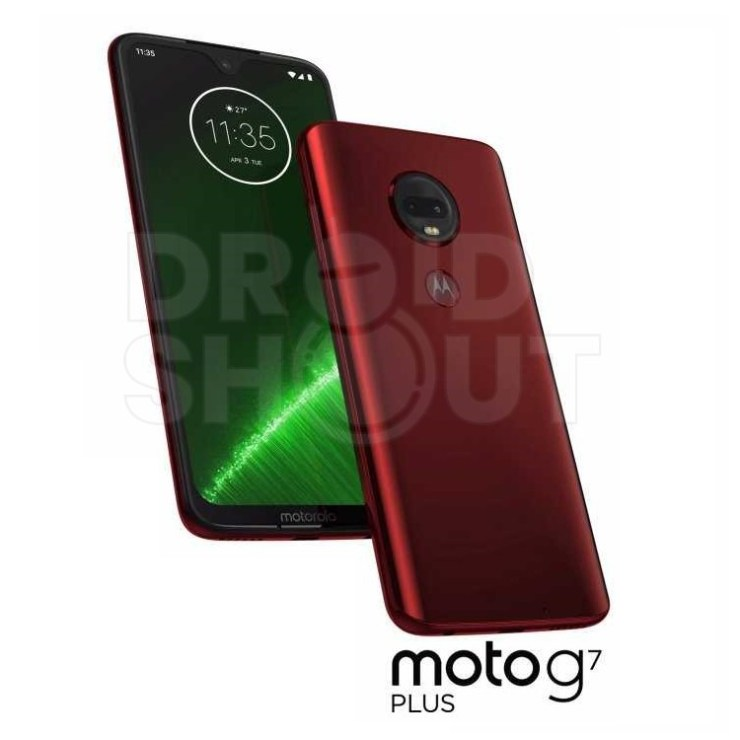 Whole Moto G7 family leaks in official press renders - Play, Plus and Power 2