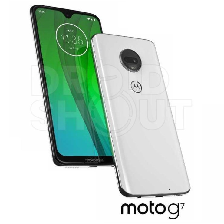 Whole Moto G7 family leaks in official press renders - Play, Plus and Power 1