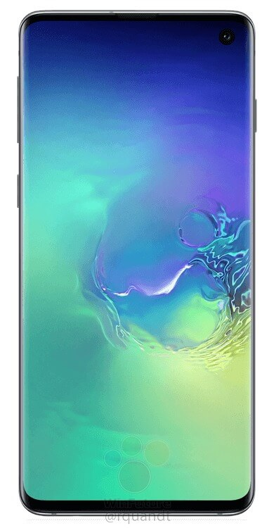 Here are the official press renders of the Samsung Galaxy S10 & S10+ 5
