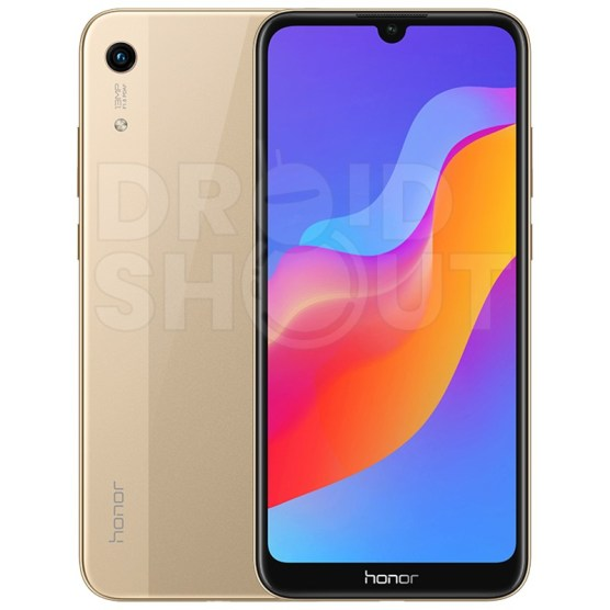 Honor 8A in Gold