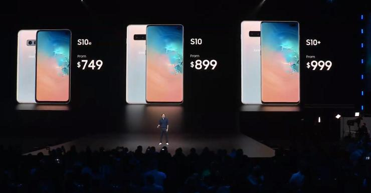 Here's the pricing for Samsung Galaxy S10 Family in India 1