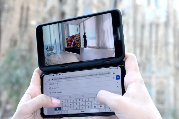 LG G8 ThinQ & V50 ThinQ 5G unveiled at MWC Barcelona 8