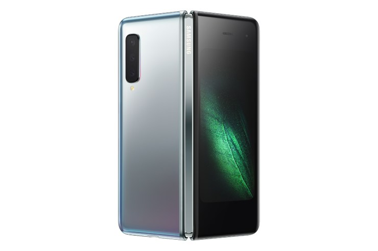 This is the Samsung Galaxy Fold - Samsung's first Foldable smartphone 5