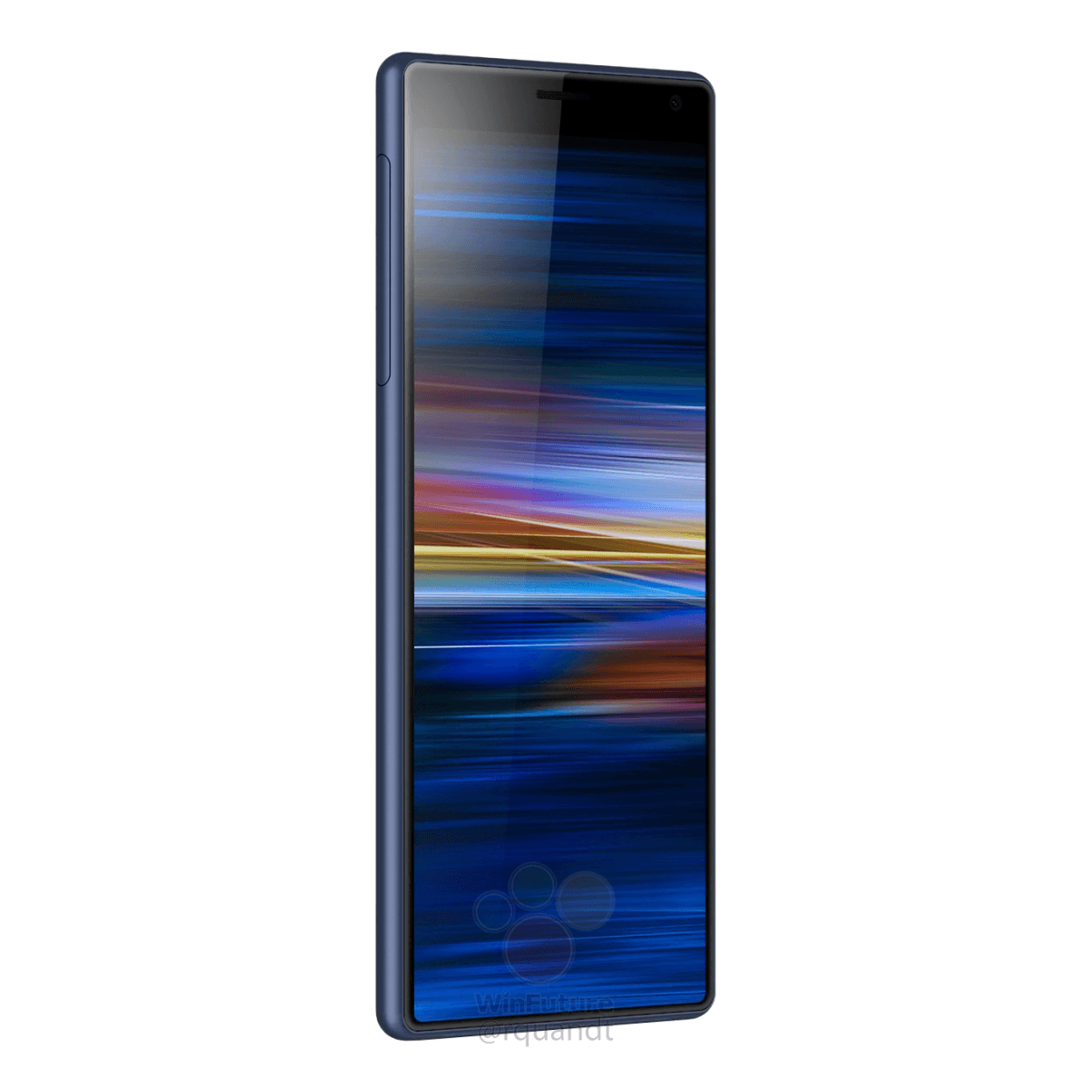 Press Renders: This is the Sony Xperia XA3 with that long 21:9 display 7