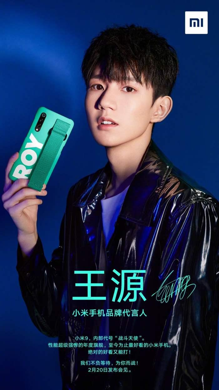 Xiaomi Mi 9 is launching on February 20