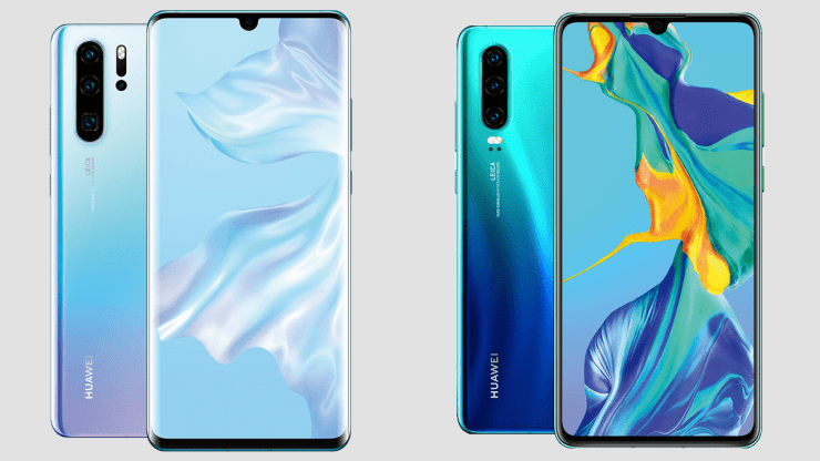 Huawei P30 & P30 Pro page accidently goes live on the official site 1