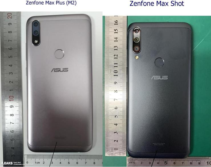 Asus Zenfone Max Plus M2 & Zenfone Max Shot design leaks via ANATEL 1