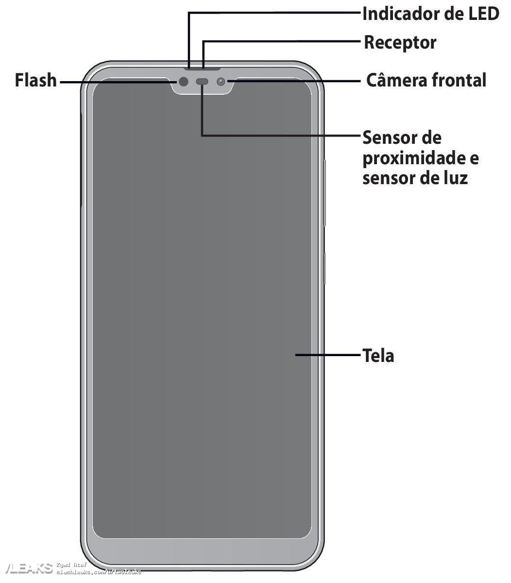 Asus Zenfone Max Plus M2 & Zenfone Max Shot design leaks via ANATEL 2