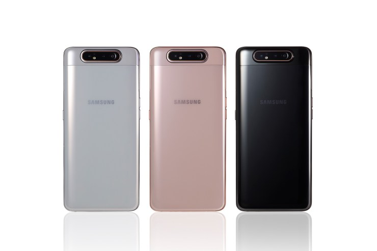 Samsung Galaxy A80 launched with rotating pop-up camera mechanism 3