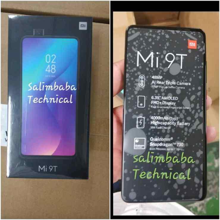 Xiaomi Mi 9T retail box suggests it's just a renamed Redmi K20 1