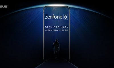 Asus Zenfone 6 teaser suggests Bezel-Less, Notch-Less design 6