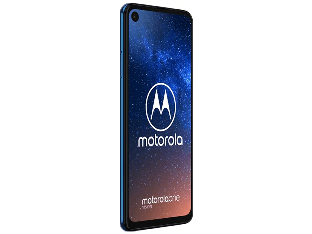Motorola One Vision in Blue & Bronze Brown leaks in press renders 8