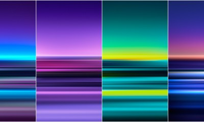 Download Sony Xperia 1 Stock Wallpapers - ZIP File Included 1