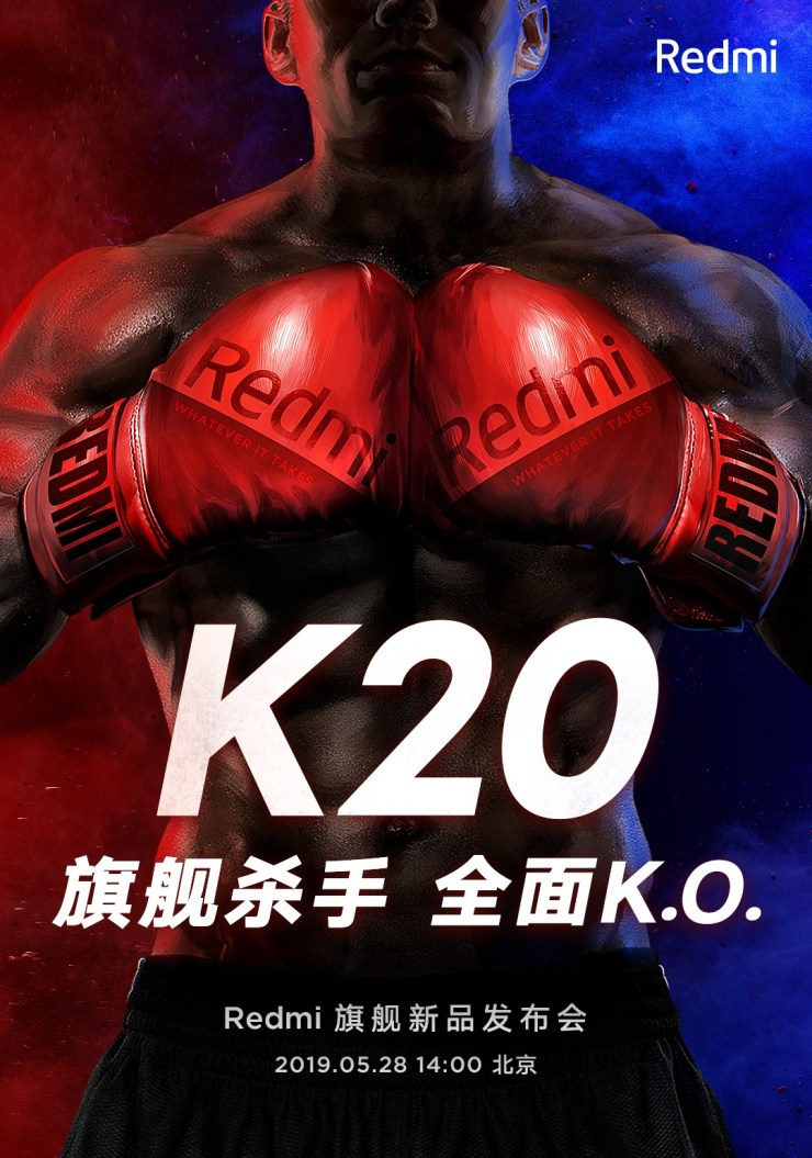 It's official! Redmi K20 to launch on May 28 in China 1