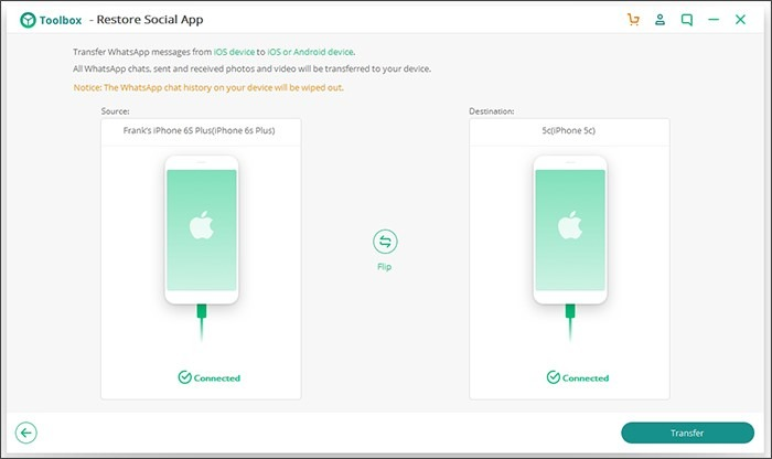 Tips to Transfer WhatsApp from iOS to iOS 4