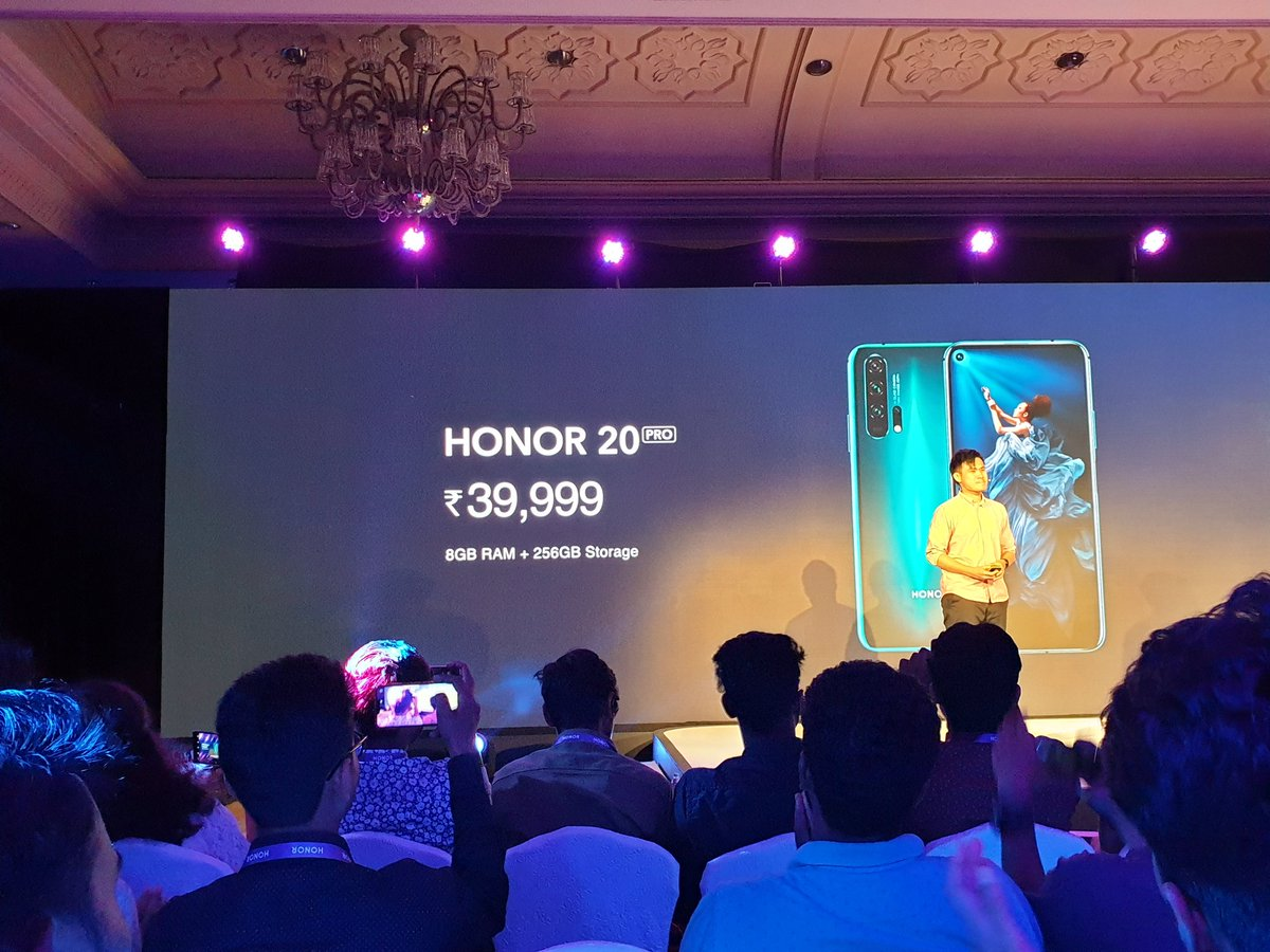 Honor 20, Honor 20 Pro & Honor 20i launched in India 12