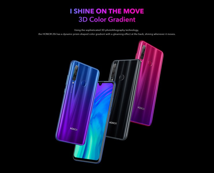 Honor 20, Honor 20 Pro & Honor 20i launched in India 5