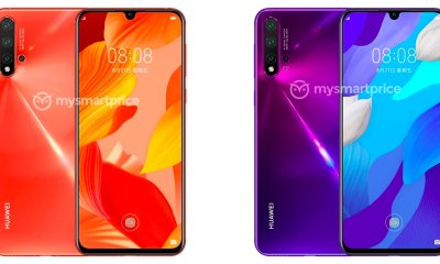 Huawei Nova 5 Pro press renders confirm a Quad Camera setup 45