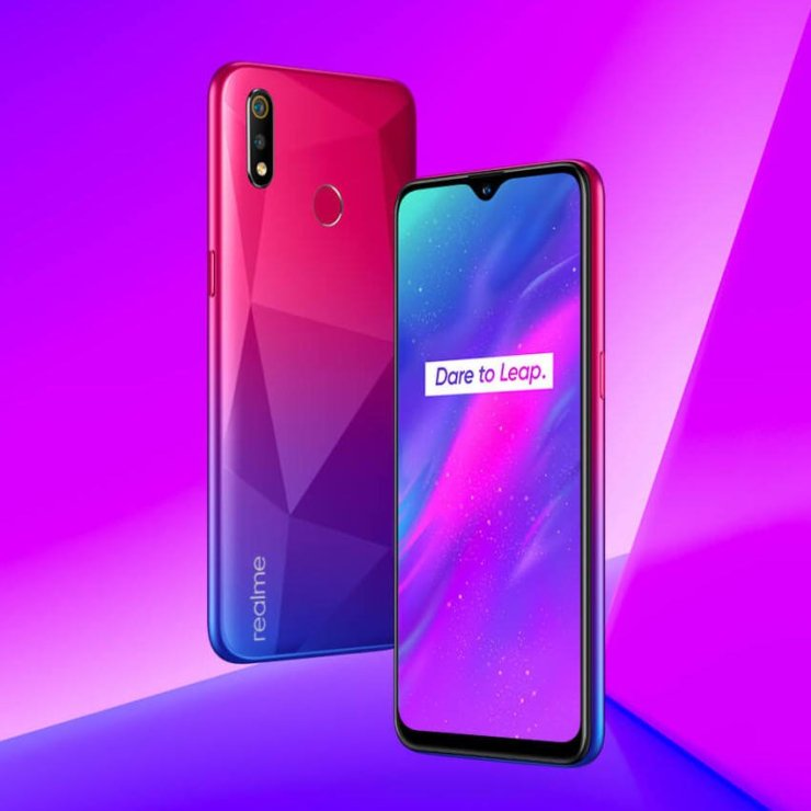 Realme 3 Diamond Red Color Option