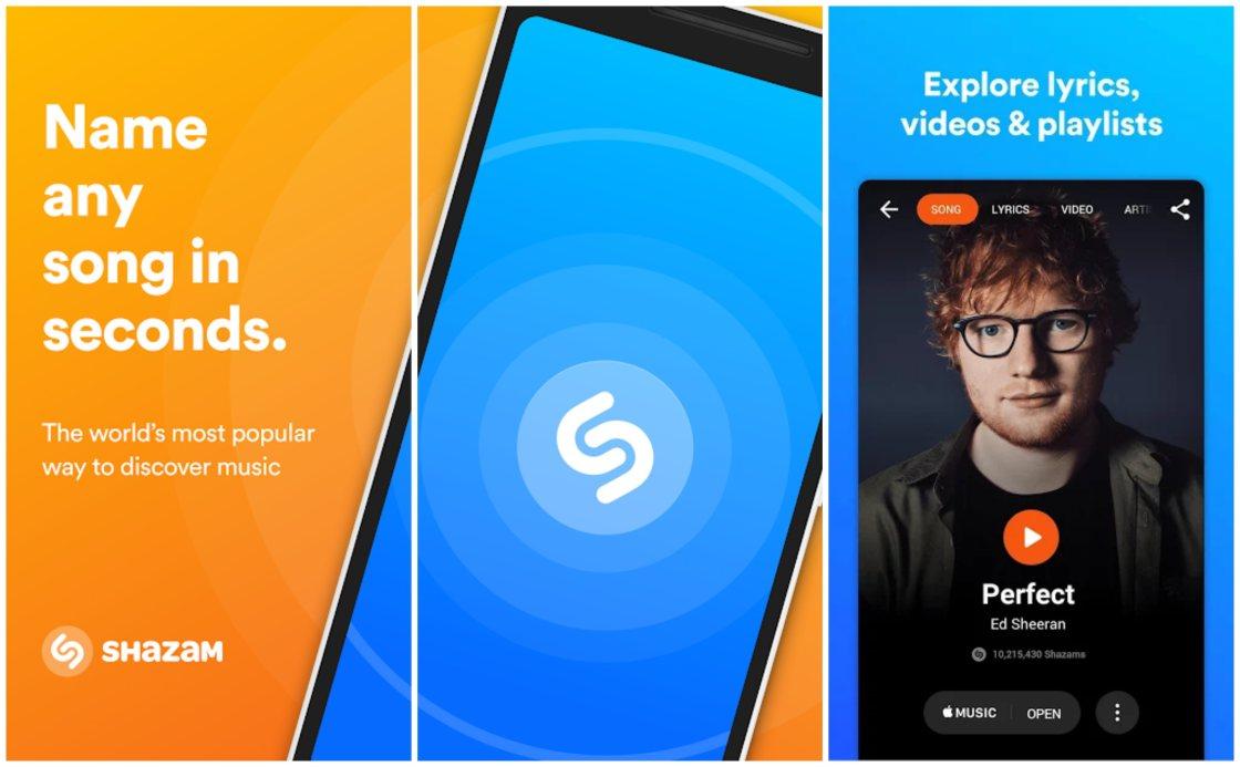 Shazam Best Song Identifer App