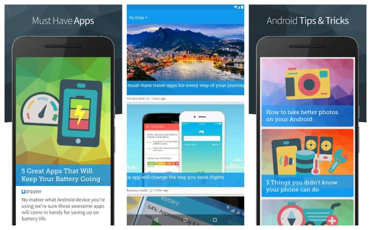 Drippler Best tech news apps for android