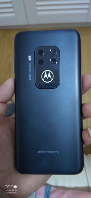 Motorola One Zoom From Rear