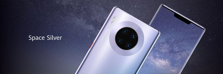 Huawei Mate 30 Pro in Space Silver