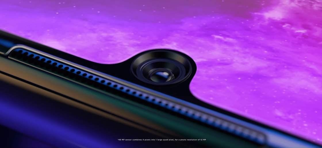 Motorola One Zoom Front Camera