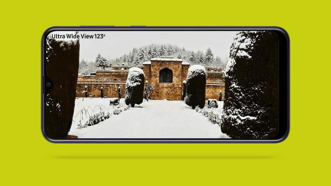 Samsung Galaxy M10s Wide Angle Camera