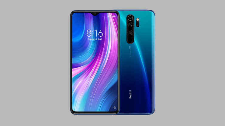 Redmi Note 8 Pro Electric Blue color