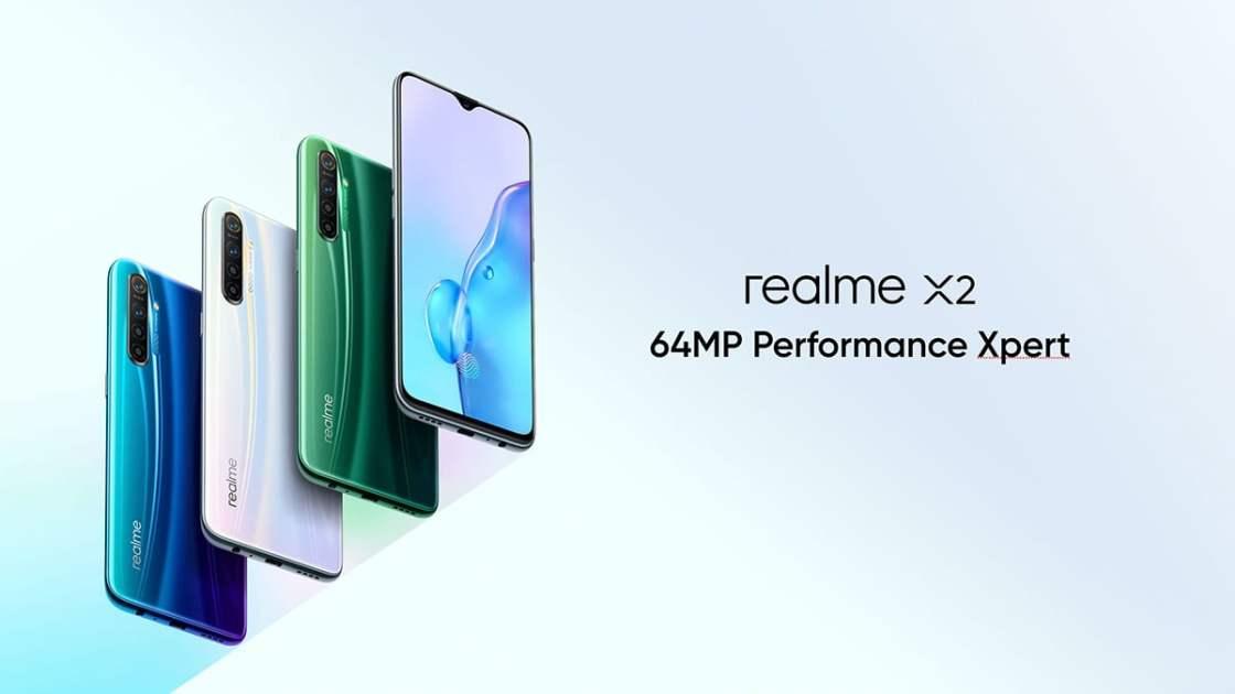Realme X2 Design