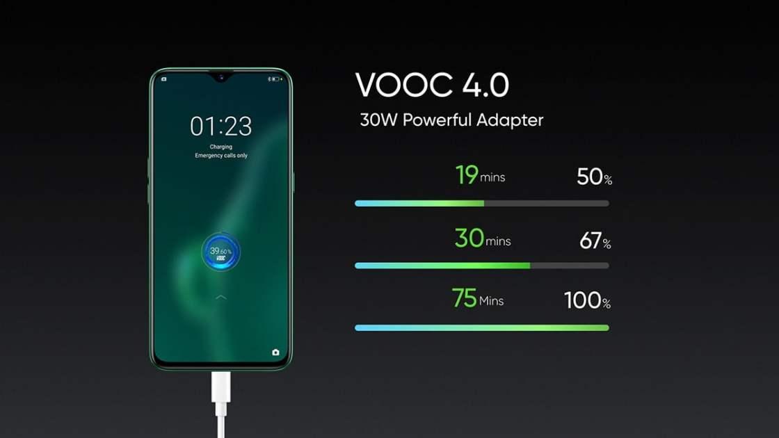 Realme X2 VOOC 4.0 Charging