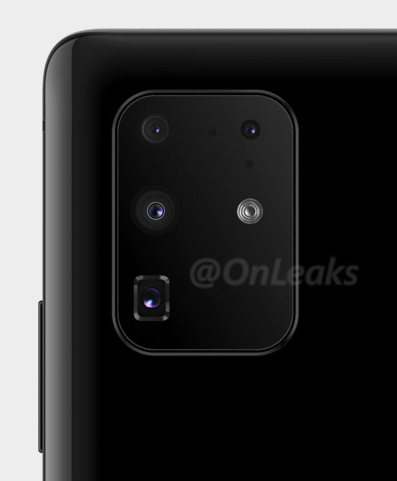 Samsung Galaxy S11 Plus camera setup