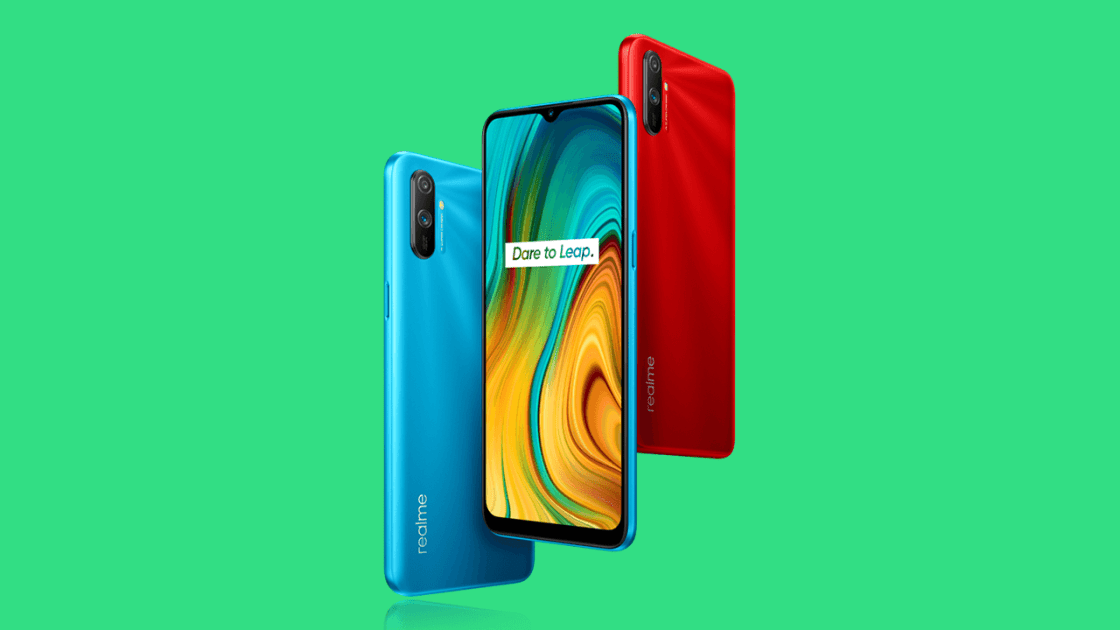 Realme C3 has a mini-drop display