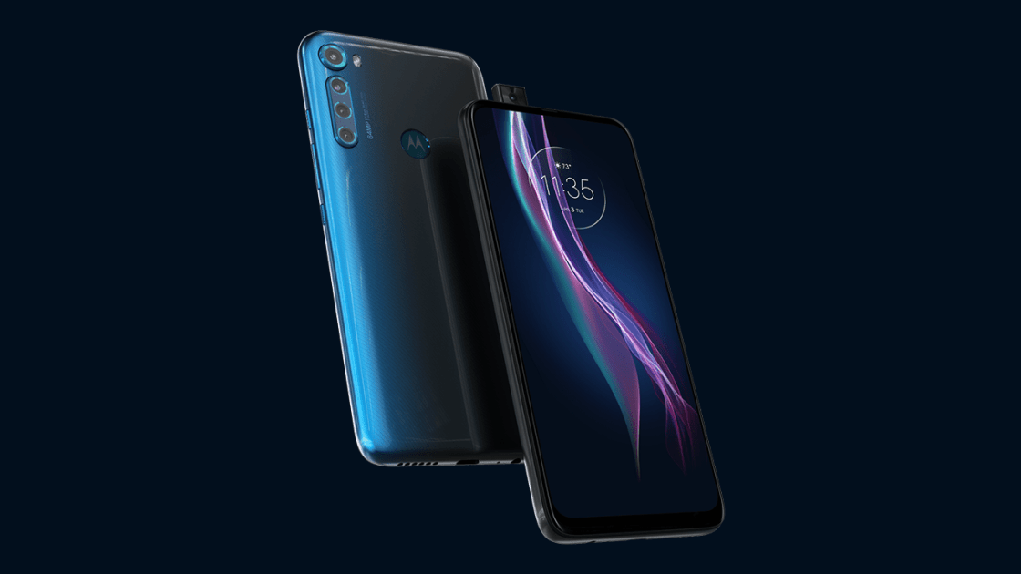 Motorola One Fusion+ Design