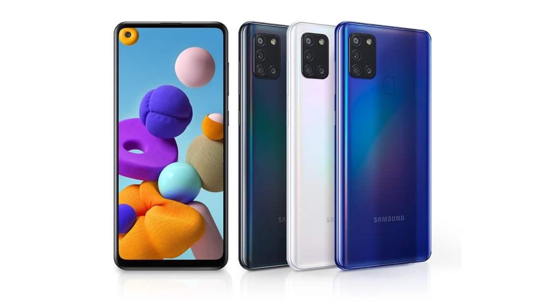 Samsung Galaxy A21s Design