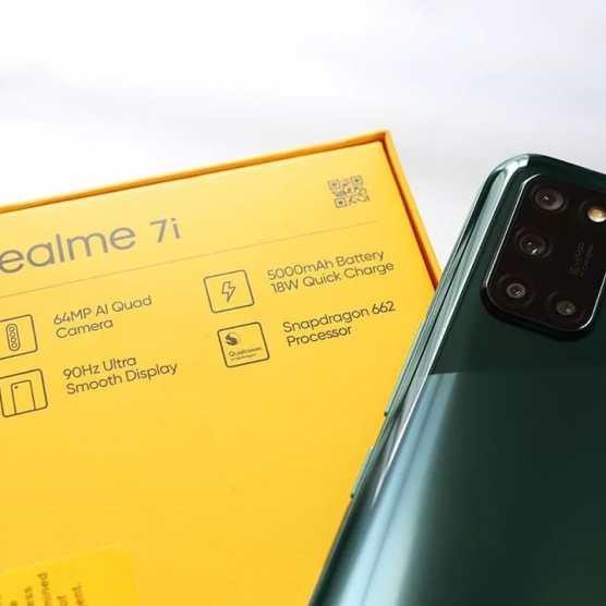 Realme 7i Live Images 4