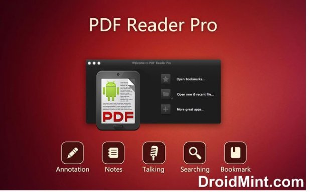 PRO PDF Reader v4.2.2 Final(DroidMint.com)