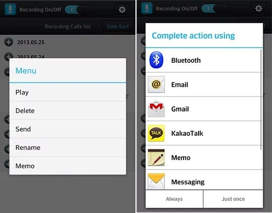 Smart Auto Call Recorder Pro v1.1.4-Screenshot1