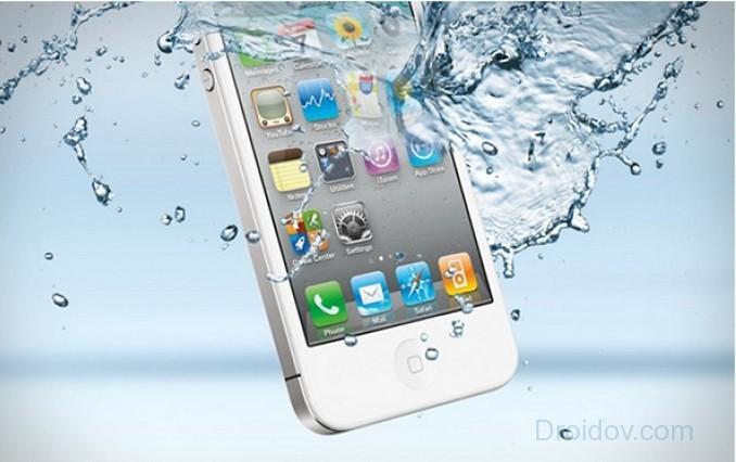IPhone non si accende dopo l'annegamento