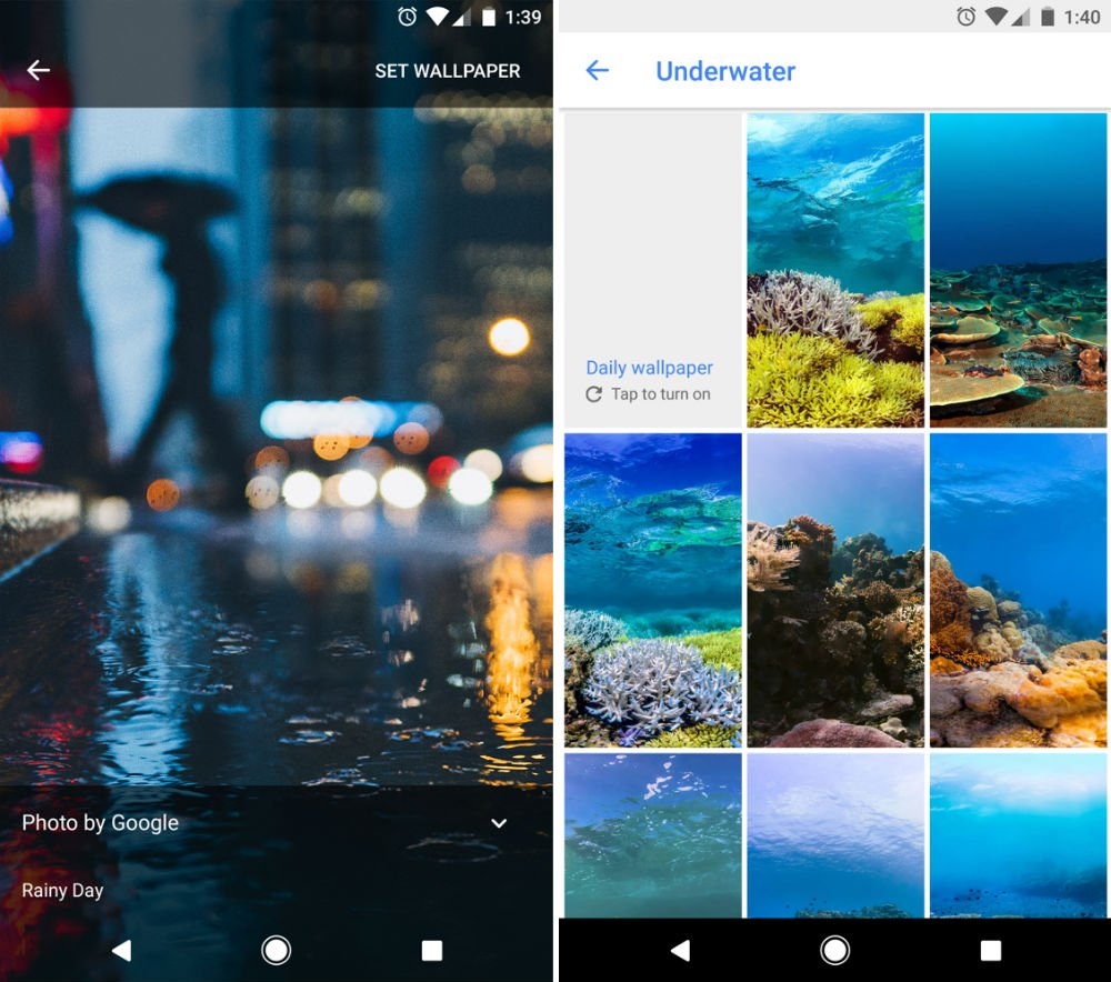 Google Wallpapers App Updated With New Categories Bit Of