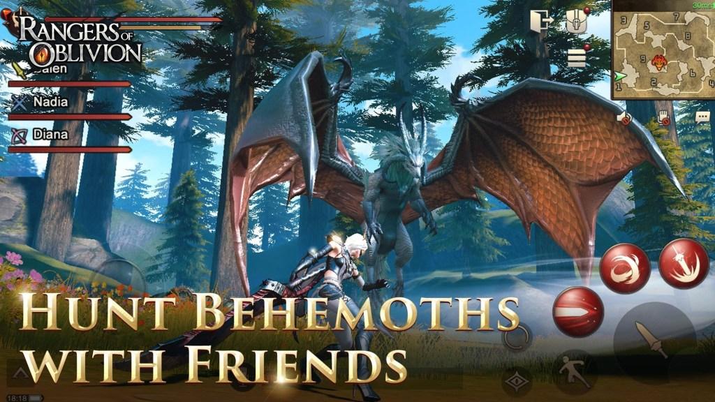 Rangers of Oblivion Review – a Monster Hunter MMORPG? – Droidpirate com