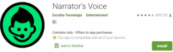 Narrator's Voice For PC Download