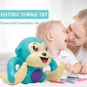 Dancing and Spinning Rolling Tumble Monkey Toy | Tumble Monkey Toy for kids