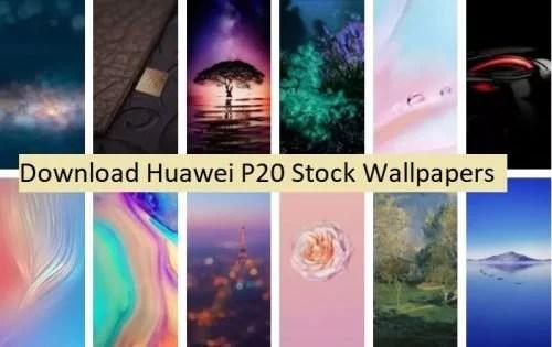 Huawei P20 Pro Wallpaper: Download Huawei P20 Default Wallpapers